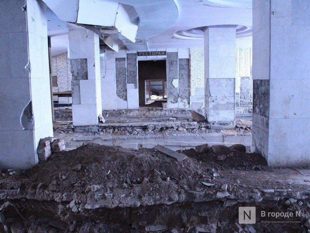 Техника для демонтажа нижегородской гостиницы «Россия» прибудет 19 марта - фото 1