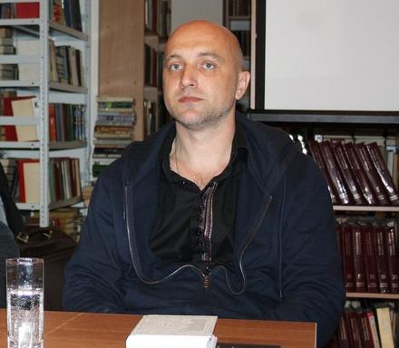 Писатель Прилепин прокомментировал визит Михаила Дикина на юбилей нижегородской думы